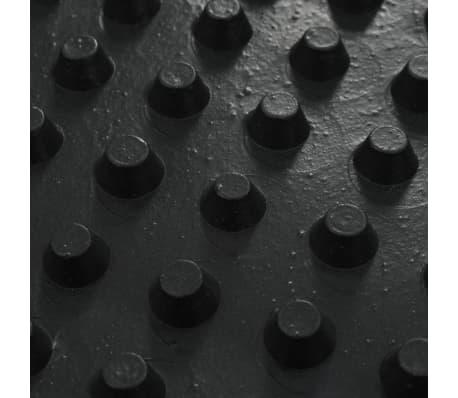 vidaXL Arkusze drenażowe z wgłębieniami, 2 szt, HDPE, 400g/m², 0,5x20m[7/7]