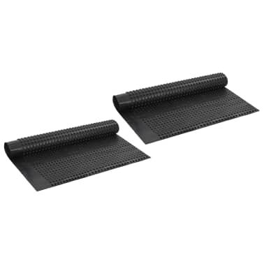 vidaXL Arkusze drenażowe z wgłębieniami, 2 szt, HDPE, 400 g/m², 1x20 m[1/7]