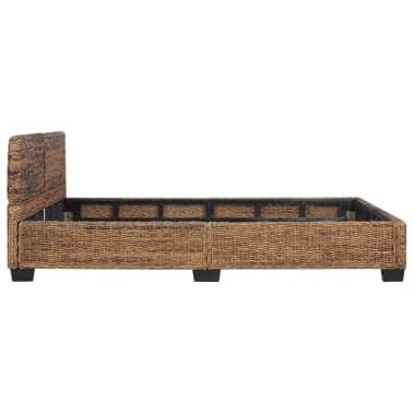 vidaXL Cadre de lit Rotin naturel 140 x 200 cm[4/7]