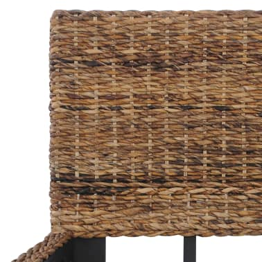 vidaXL Cadre de lit Rotin naturel 140 x 200 cm[5/7]