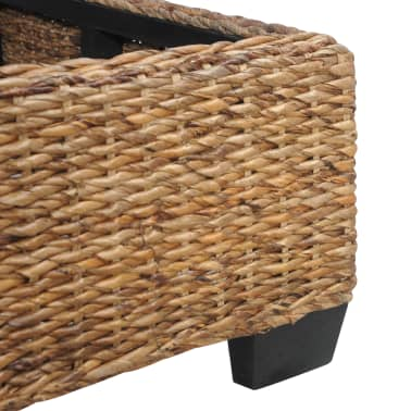 vidaXL Cadre de lit Rotin naturel 140 x 200 cm[6/7]