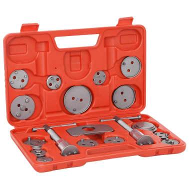 vidaXL Kit de herramientas retroceso pinza de freno de disco 18 piezas[1/5]