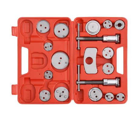 vidaXL Kit de herramientas retroceso pinza de freno de disco 18 piezas[2/5]