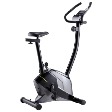 vidaXL Bicicleta estática magnética con pulsómetro[1/8]