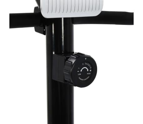vidaXL Bicicleta estática magnética con pulsómetro[7/8]