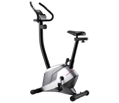 vidaXL Magnetyczny rower treningowy z pomiarem tętna[1/8]