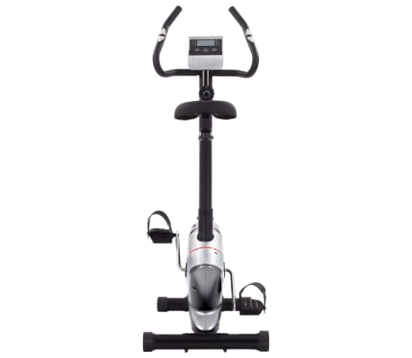 vidaXL Bicicletă de fitness magnetică cu măsurare puls[2/8]