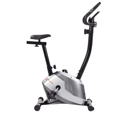 vidaXL Bicicletă de fitness magnetică cu măsurare puls[3/8]