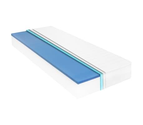 vidaXL Materac, 80x200 cm, pianka memory visco, 18 cm