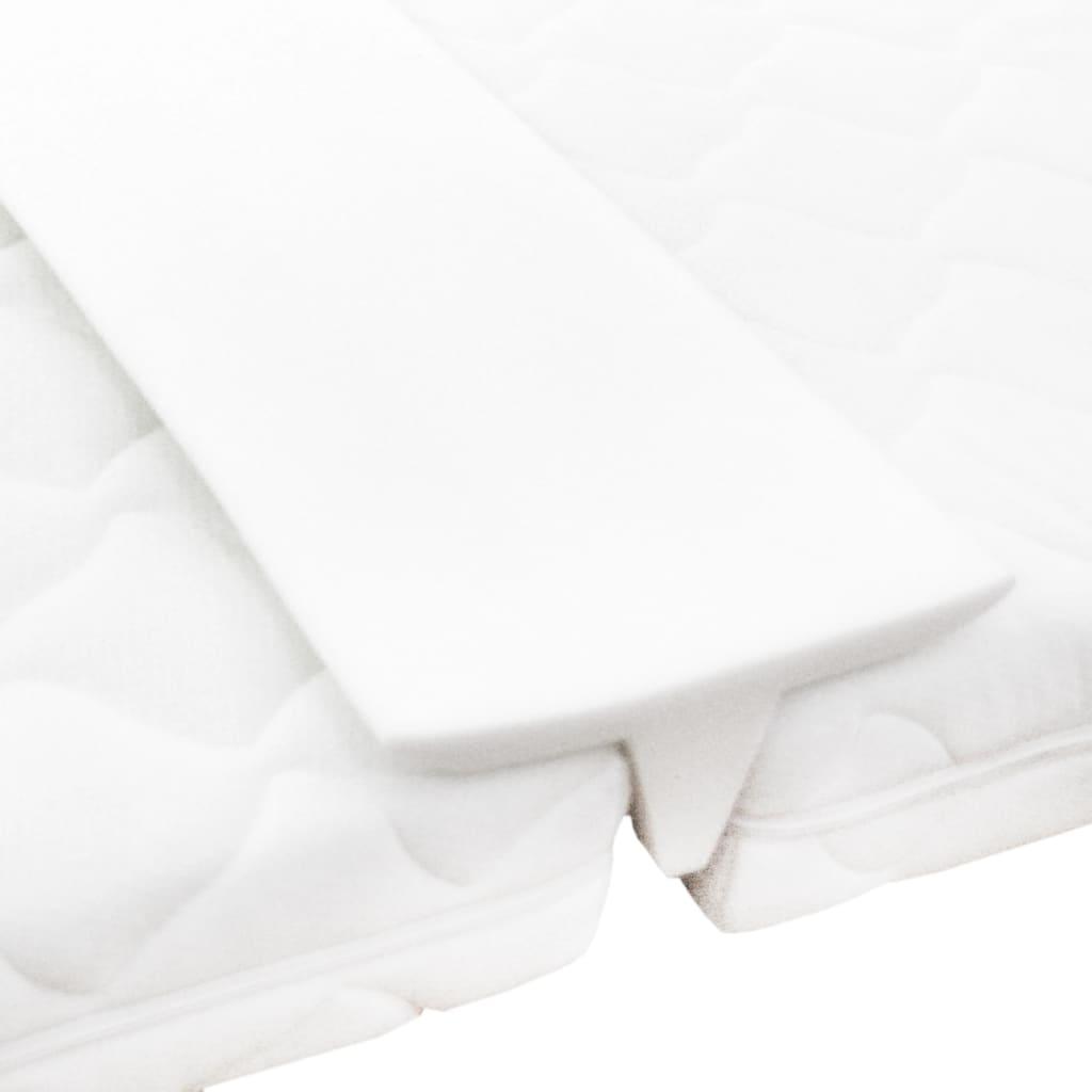 Saltea de pat cu conectare pentru paturi twin, 25 x 200 cm poza vidaxl.ro