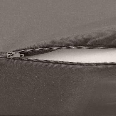 vidaXL 3-teilige Klappmatratze 190×70×9 cm Grau[5/6]
