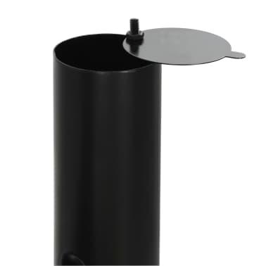 vidaXL Classic Charcoal BBQ Offset Smoker[6/8]