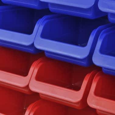 Werkstattboxen für die Wand Blau und Rot (2 Aufbewahrungseinheiten)[3/5]