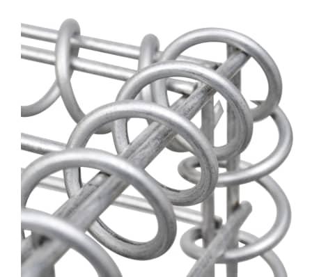 vidaXL Jardinera de gaviones de acero 50x50x50 cm[6/7]