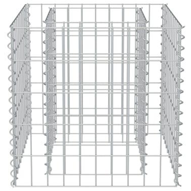 vidaXL Jardinera de gaviones de acero 50x50x50 cm[5/7]