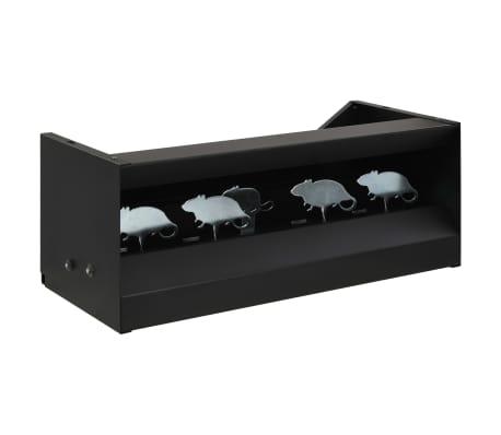 vidaXL Magnetyczne cele strzelnicze z kulochwytem, 4+1, wzór myszy
