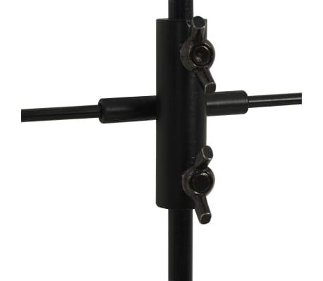 vidaXL Måltavla med stativ och papper 78x76 cm stål[5/5]