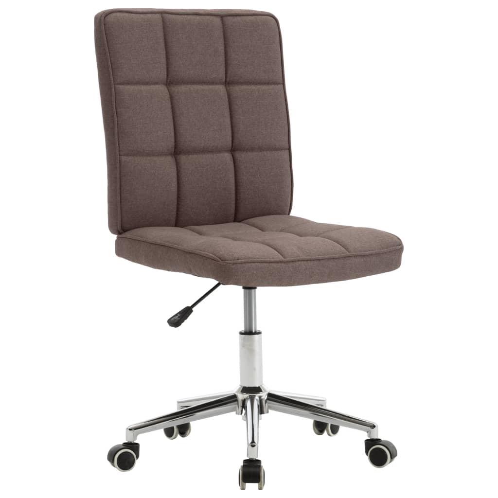Jídelní židle taupe textil
