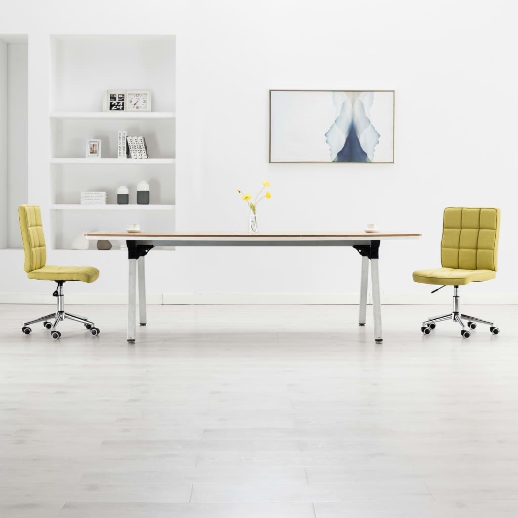 <ul><li>Farbe: Grün</li><li>Material: Stoffpolsterung + Sperrholzrahmen + Stahlbeine</li><li>Gesamtabmessungen: 48 x 55 x (88-98) cm (B x T x H)</li><li>Sitztiefe: 45 cm</li><li>Rückenlehnhöhe: 50 cm</li><li>Sitzhöhe vom Boden: 43 - 53 cm</li><li>Lieferung umfasst 2 Esszimmerstühle</li><li>Max. Tragfähigkeit: 110 kg</li><li>Material: Polyester: 100%</li></ul>