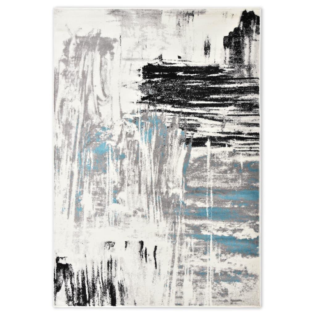 vidaXL Koberec modrý 80 x 150 cm PP