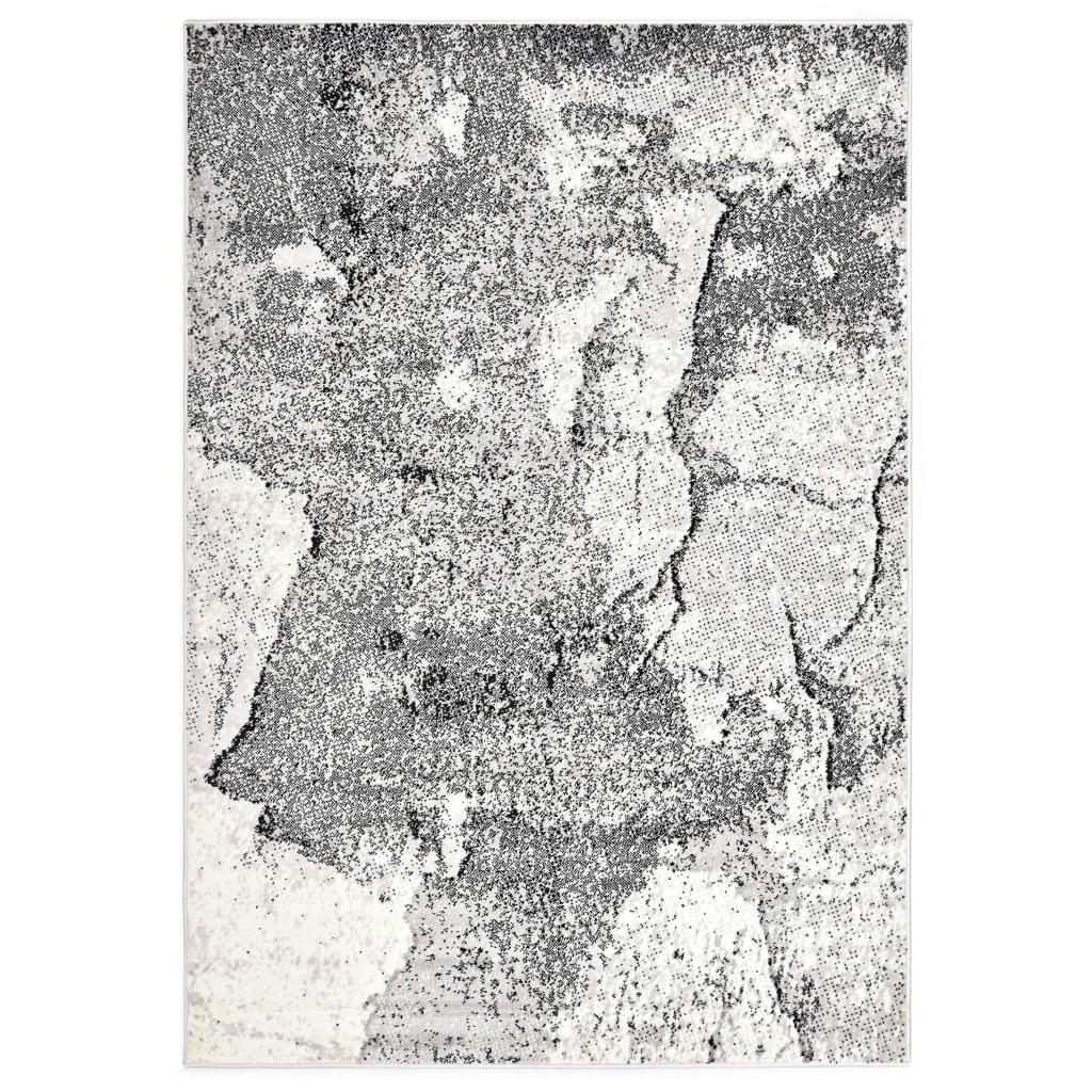 vidaXL Koberec šedý 80 x 150 cm PP