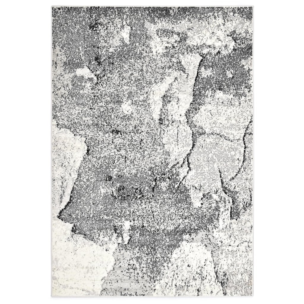 vidaXL Teppe grå 160x230 cm PP