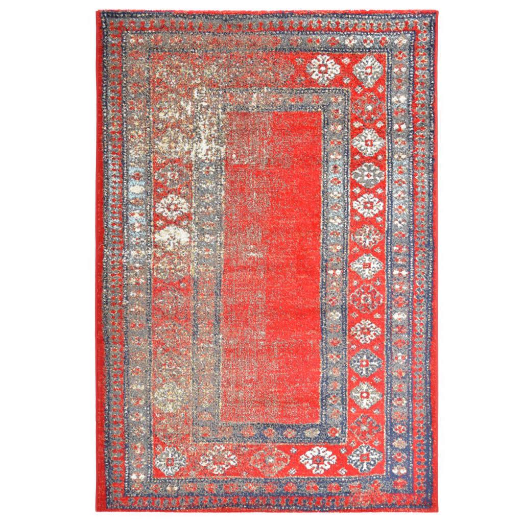 vidaXL Koberec červený 80 x 150 cm PP