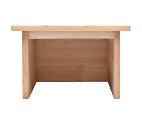 vidaXL Στέγαστρο Χλοοκοπτικού 92x104x59,5 εκ/19 χιλ. Μασίφ Ξύλο Πεύκου[3/8]