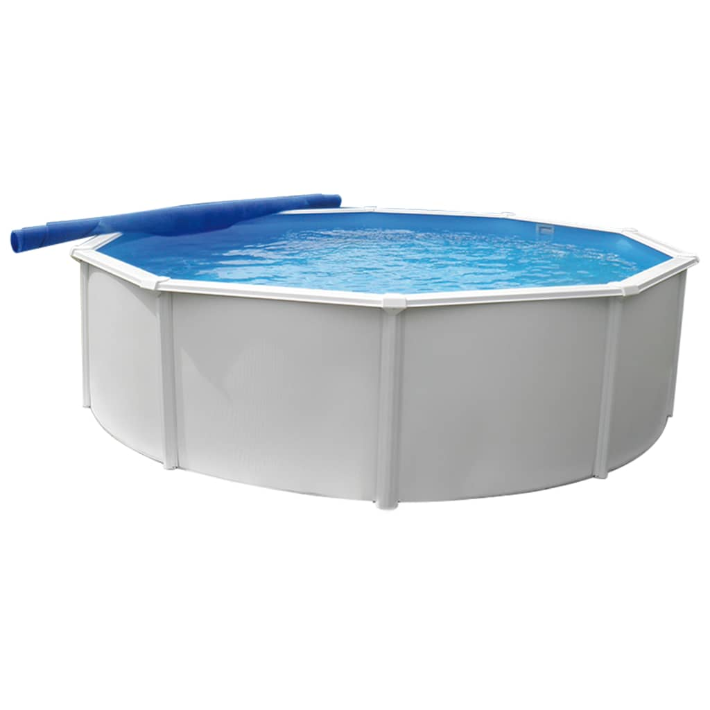 KWAD Zwembad Steely Deluxe rond 4,6x1,2 m