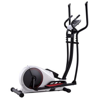 vidaXL Crosstrainer magnetiskt motstånd med pulsmätning[1/6]