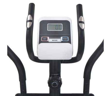 vidaXL Crosstrainer magnetiskt motstånd med pulsmätning[5/6]