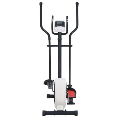 vidaXL Crosstrainer magnetiskt motstånd med pulsmätning[3/6]