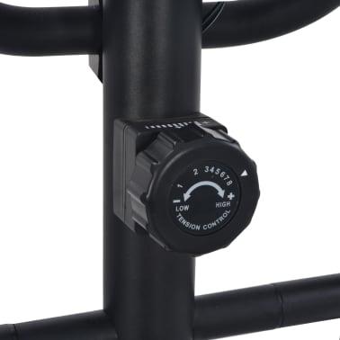 vidaXL Crosstrainer magnetiskt motstånd med pulsmätning[6/6]