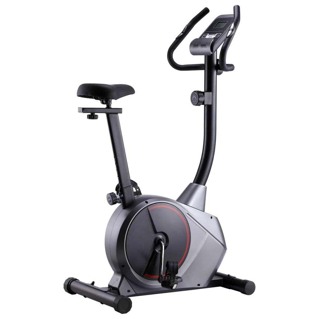 vidaXL Bicicletă de fitness magnetică cu măsurare puls vidaxl.ro