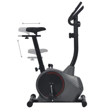 vidaXL Bicicletă de fitness magnetică cu măsurare puls[5/9]