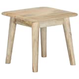 vidaXL Coffee Table 45x45x40 cm Solid Mango Wood