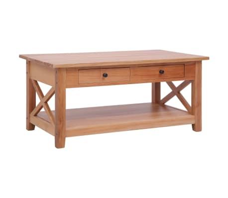 vidaXL Konferenční stolek 100 x 55 x 46 cm masivní mahagon