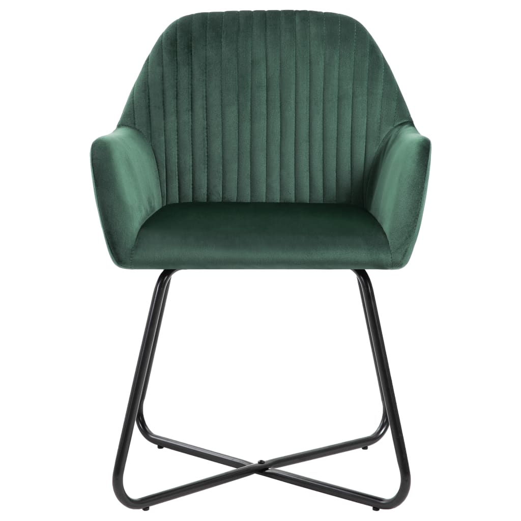 Ajoutez une touche moderne à votre salle à manger ou à votre salon avec nos chaises de salle à manger, confortables et stables ! Fabriqué en velours de qualité, cet ensemble de 4 chaises de salle à manger est conçu de manière esthétique et ergonomique pour apporter une touche chaleureuse à votre maison.
