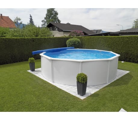 KWAD Ensemble de piscine Steely Deluxe Ronde 3,6x1,2 m [2/7]