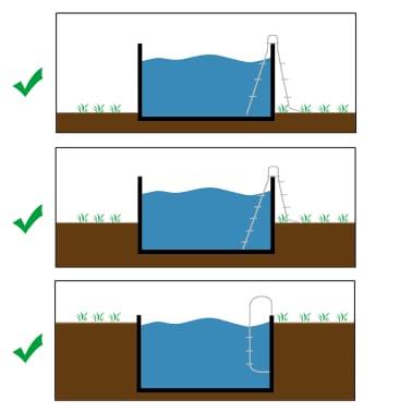 KWAD Ensemble de piscine Steely Deluxe Ronde 3,6x1,2 m [3/7]