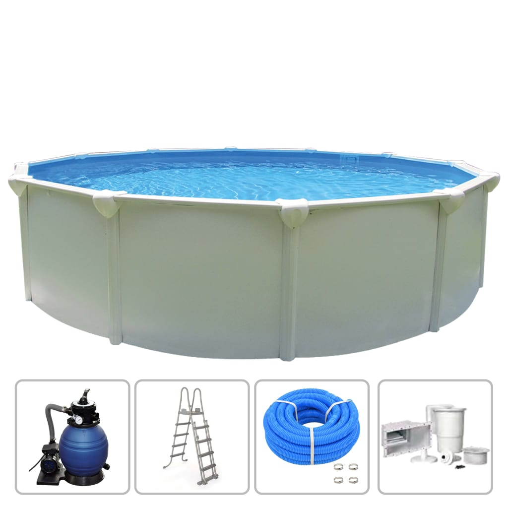 Image of KWAD Set Piscina Supreme Rotonda 4,6 x 1,32 m