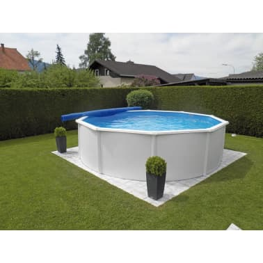 KWAD Ensemble de piscine Steely Deluxe Ronde 5,5x1,2 m[2/7]