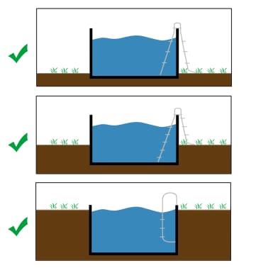 KWAD Ensemble de piscine Steely Deluxe Ronde 5,5x1,2 m[3/7]