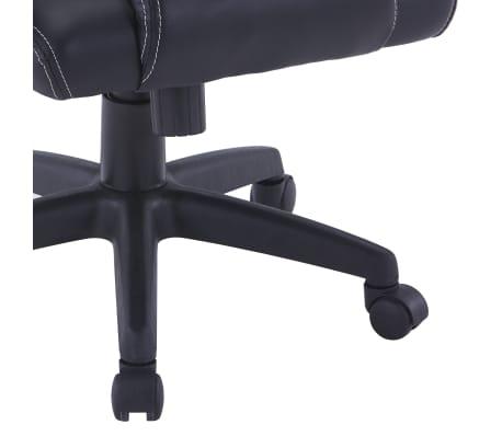 vidaXL Fotel dla gracza, szary, sztuczna skóra[7/8]