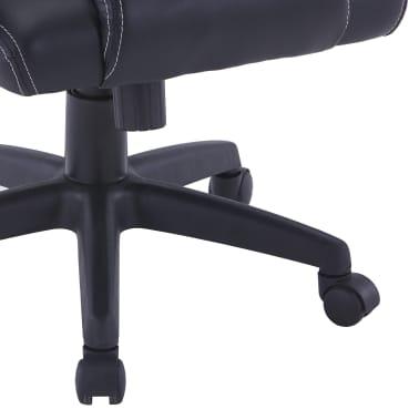 vidaXL Gamingstoel kunstleer grijs[7/8]