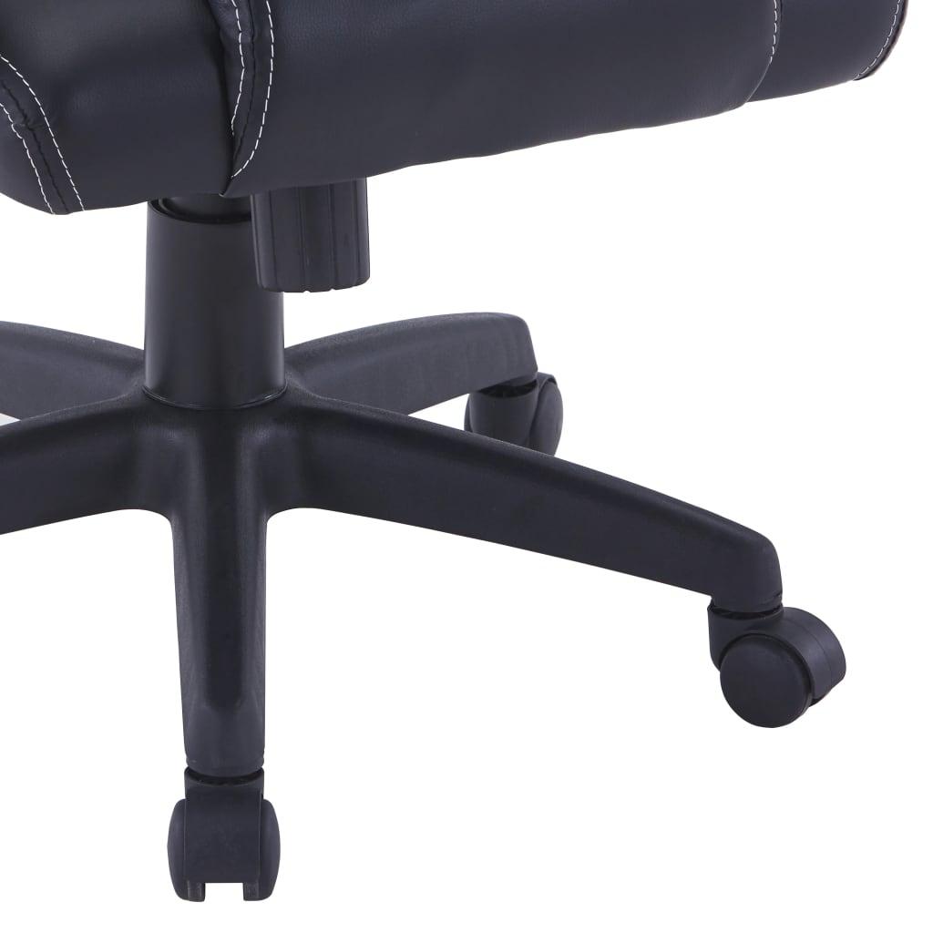 Herní židle zelená umělá kůže