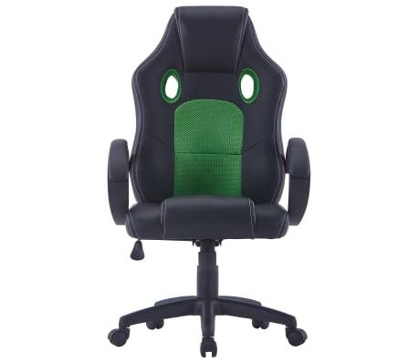 vidaXL Gamingstoel kunstleer groen[2/8]