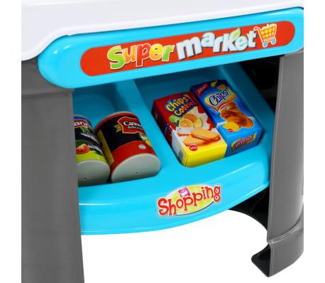 vidaXL Tienda de juguete para niños 51 piezas 68x25x67,5 cm[5/7]