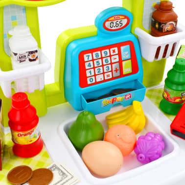 vidaXL Tienda de juguete para niños 51 piezas 68x25x67,5 cm[3/7]