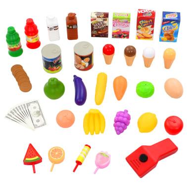 vidaXL Tienda de juguete para niños 51 piezas 68x25x67,5 cm[7/7]